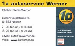 1a autoservice Werner