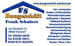 Baugeschäft Frank Schubert