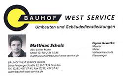 Bauhof West Service