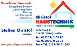 Christof Haustechnik