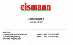 Eismann Gerd Knappe