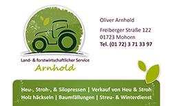 Land- & forstwirtschaftlicher Service Arnhold