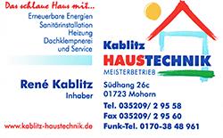 Kablitz Haustechnik