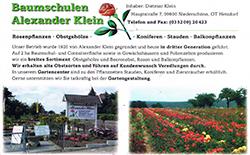 Baumschulen Alexander Klein