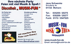 Discothek Musik-Fun