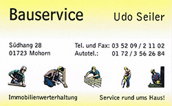 Bauservice Udo Seiler