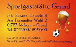 Sportgaststätte Mohorn-Grund