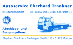 Autoservice Eberhard Tränkner