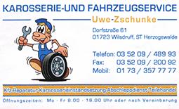 Karosserie- und Fahrzeugservice Uwe Zschunke