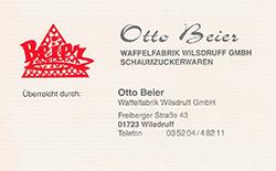 Otto Beier - Waffelfabrik Wilsdruff GmbH